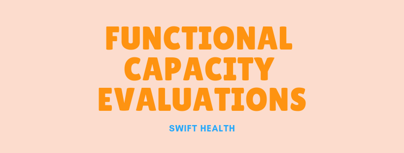 functional capacity evaluation fce