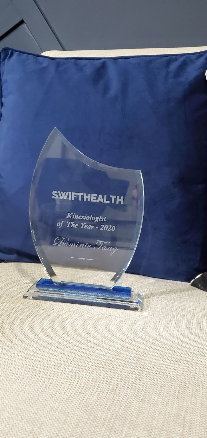 kinesiologist of the year trophy